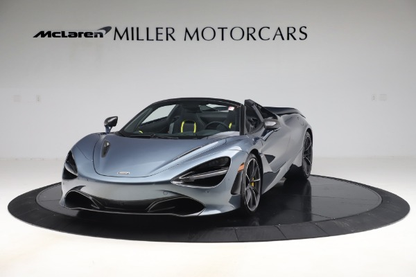 Used 2020 McLaren 720S Spider Convertible for sale Sold at McLaren Greenwich in Greenwich CT 06830 2