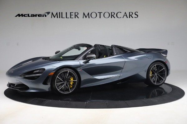 Used 2020 McLaren 720S Spider Convertible for sale Sold at McLaren Greenwich in Greenwich CT 06830 1