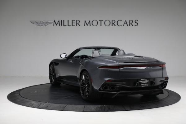 Used 2020 Aston Martin DBS Superleggera Volante for sale Sold at McLaren Greenwich in Greenwich CT 06830 4