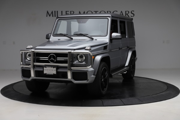 Used 2018 Mercedes-Benz G-Class AMG G 63 for sale Call for price at McLaren Greenwich in Greenwich CT 06830 2
