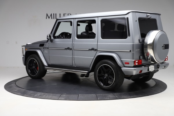 Used 2018 Mercedes-Benz G-Class AMG G 63 for sale Sold at McLaren Greenwich in Greenwich CT 06830 4