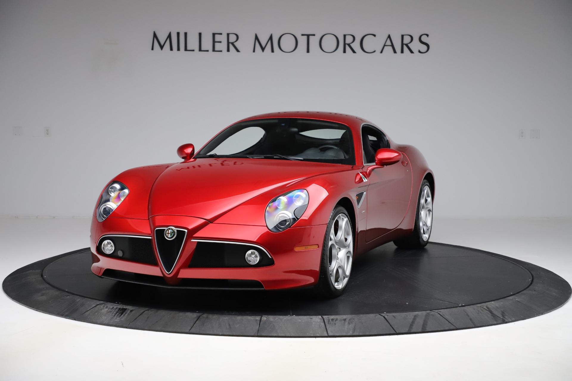 Used 2008 Alfa Romeo 8C Competizione for sale Call for price at McLaren Greenwich in Greenwich CT 06830 1