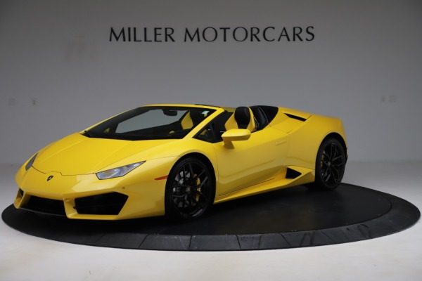 Used 2018 Lamborghini Huracan LP 580-2 Spyder for sale $203,900 at McLaren Greenwich in Greenwich CT 06830 2