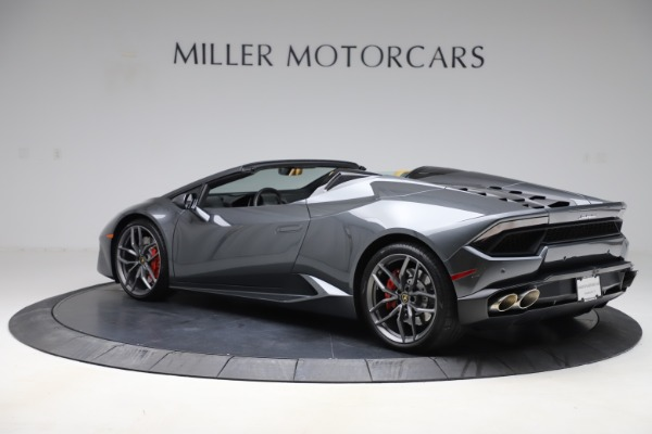 Used 2018 Lamborghini Huracan LP 580-2 Spyder for sale Sold at McLaren Greenwich in Greenwich CT 06830 4