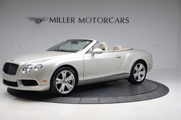 Used 2015 Bentley Continental GTC V8 for sale $114,900 at McLaren Greenwich in Greenwich CT 06830 2