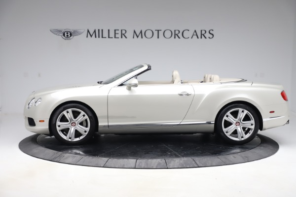 Used 2015 Bentley Continental GTC V8 for sale $114,900 at McLaren Greenwich in Greenwich CT 06830 3