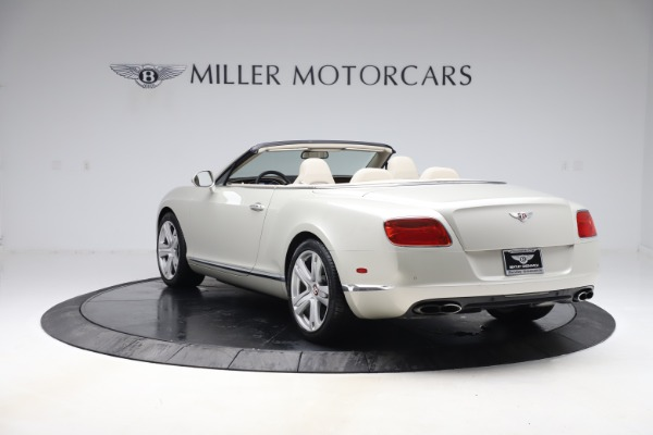 Used 2015 Bentley Continental GTC V8 for sale $114,900 at McLaren Greenwich in Greenwich CT 06830 4
