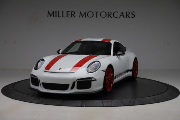 Used 2016 Porsche 911 R for sale Sold at McLaren Greenwich in Greenwich CT 06830 1