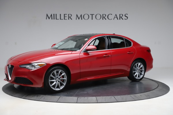 New 2020 Alfa Romeo Giulia Q4 for sale $45,740 at McLaren Greenwich in Greenwich CT 06830 2