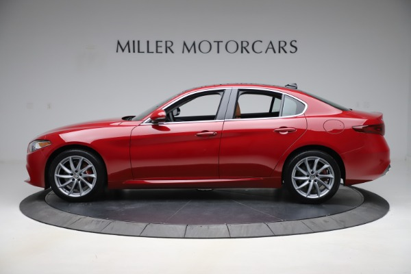 New 2020 Alfa Romeo Giulia Q4 for sale $45,740 at McLaren Greenwich in Greenwich CT 06830 3