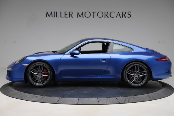Used 2014 Porsche 911 Carrera S for sale Sold at McLaren Greenwich in Greenwich CT 06830 3
