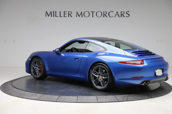 Used 2014 Porsche 911 Carrera S for sale Sold at McLaren Greenwich in Greenwich CT 06830 4