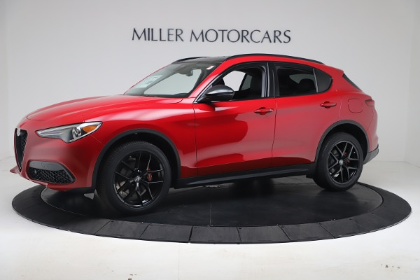 New 2020 Alfa Romeo Stelvio Q4 for sale $49,240 at McLaren Greenwich in Greenwich CT 06830 2