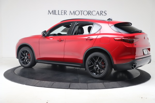 New 2020 Alfa Romeo Stelvio Q4 for sale $49,240 at McLaren Greenwich in Greenwich CT 06830 4