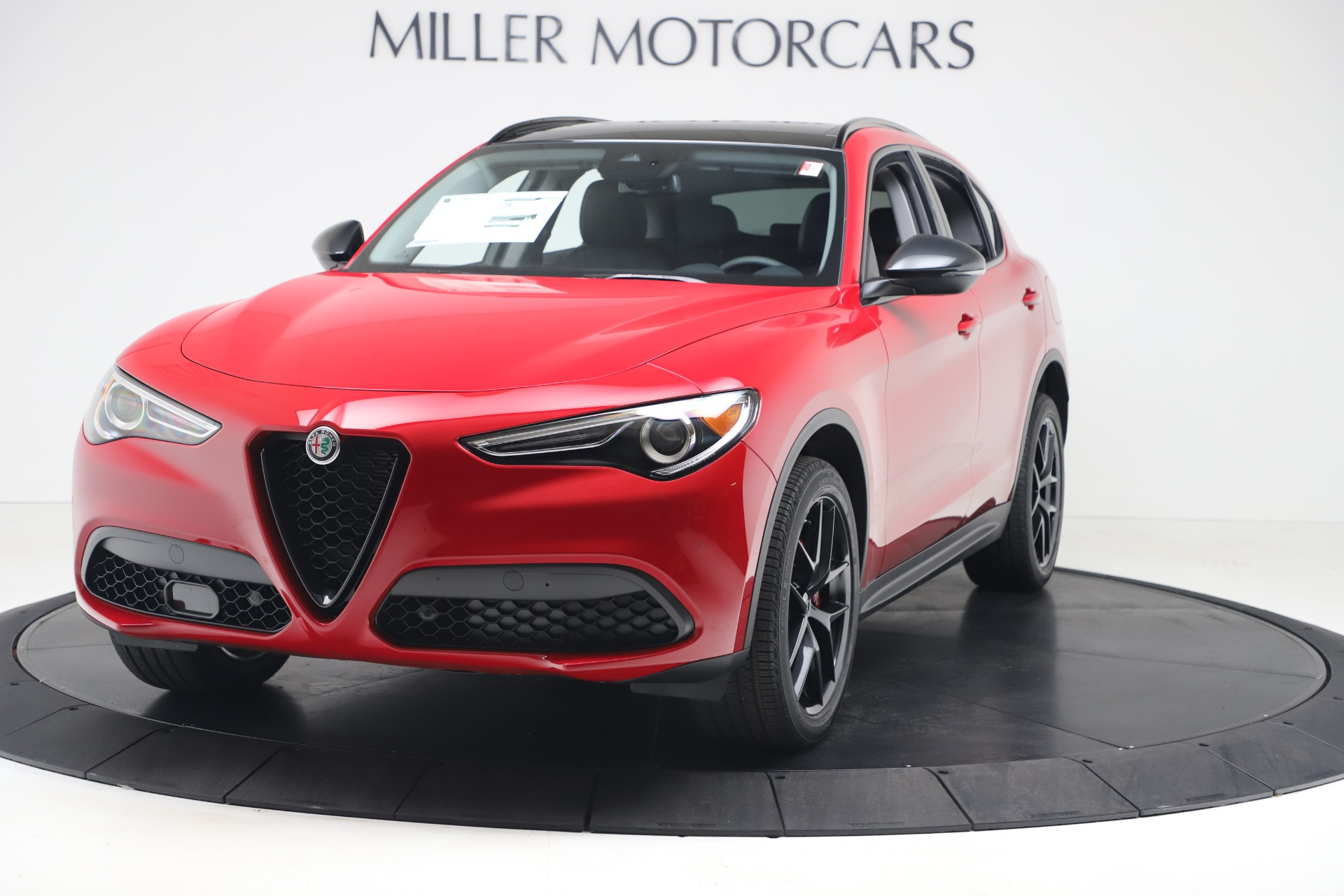 New 2020 Alfa Romeo Stelvio Q4 for sale $49,240 at McLaren Greenwich in Greenwich CT 06830 1