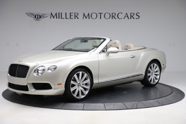 Used 2015 Bentley Continental GTC V8 for sale $109,900 at McLaren Greenwich in Greenwich CT 06830 2