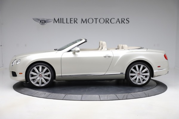 Used 2015 Bentley Continental GTC V8 for sale $109,900 at McLaren Greenwich in Greenwich CT 06830 3