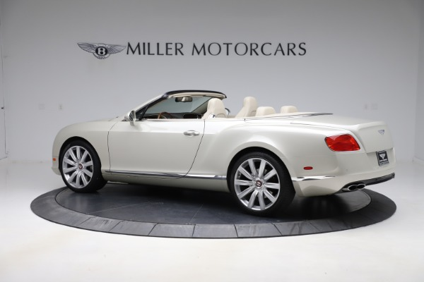 Used 2015 Bentley Continental GTC V8 for sale $109,900 at McLaren Greenwich in Greenwich CT 06830 4