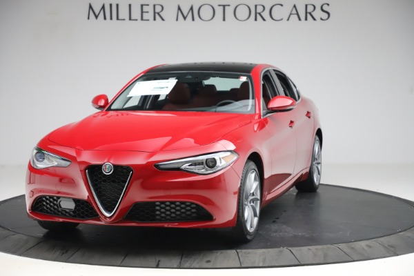 New 2020 Alfa Romeo Giulia Q4 for sale $45,740 at McLaren Greenwich in Greenwich CT 06830 1