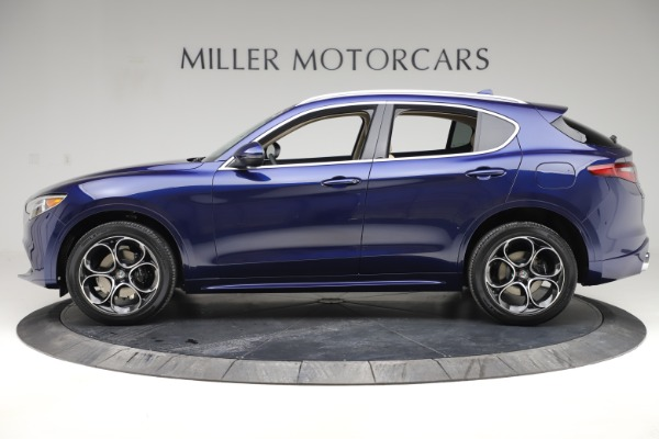 New 2020 Alfa Romeo Stelvio Ti Lusso Q4 for sale $55,790 at McLaren Greenwich in Greenwich CT 06830 3