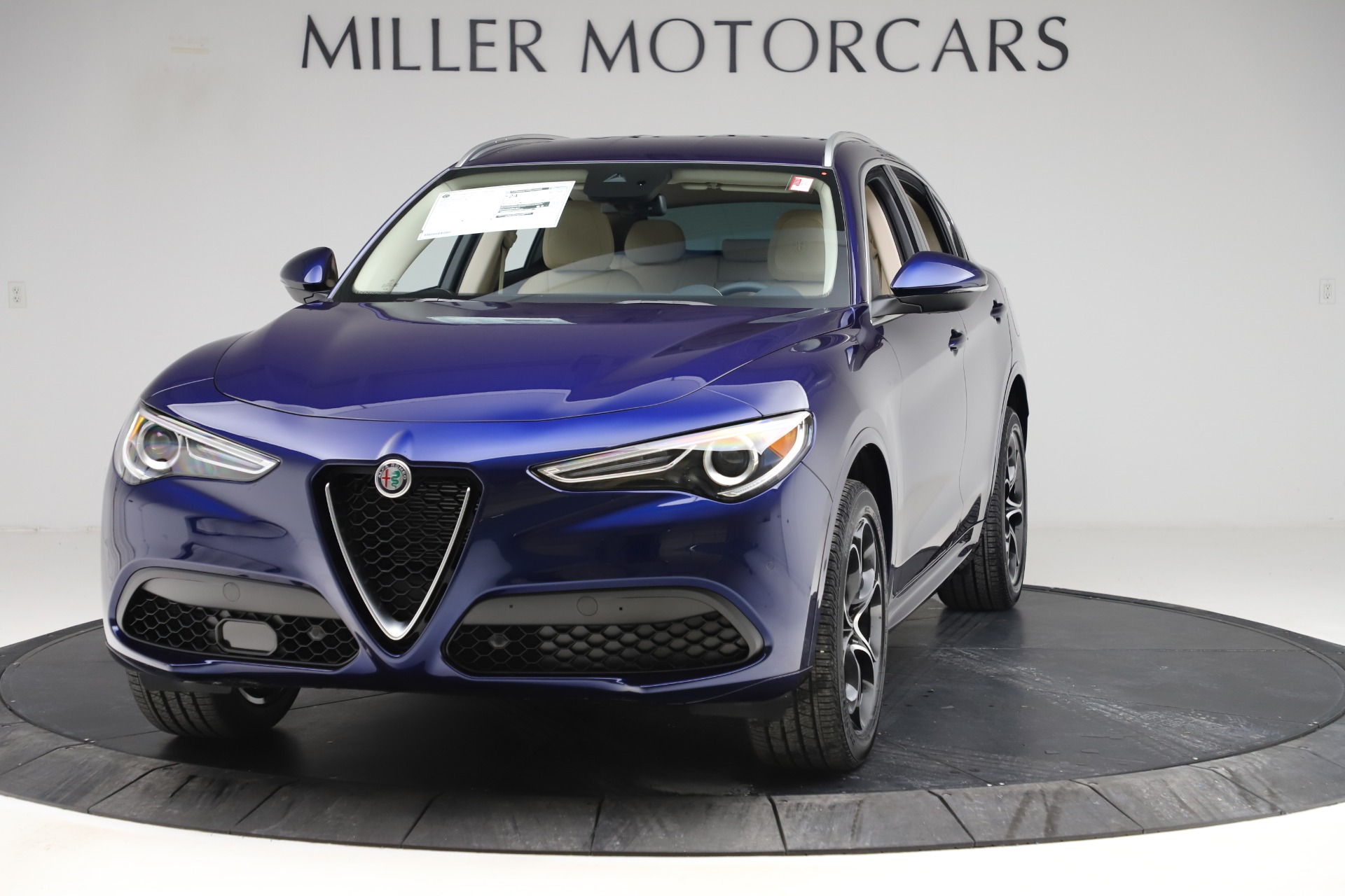New 2020 Alfa Romeo Stelvio Ti Lusso Q4 for sale $55,790 at McLaren Greenwich in Greenwich CT 06830 1