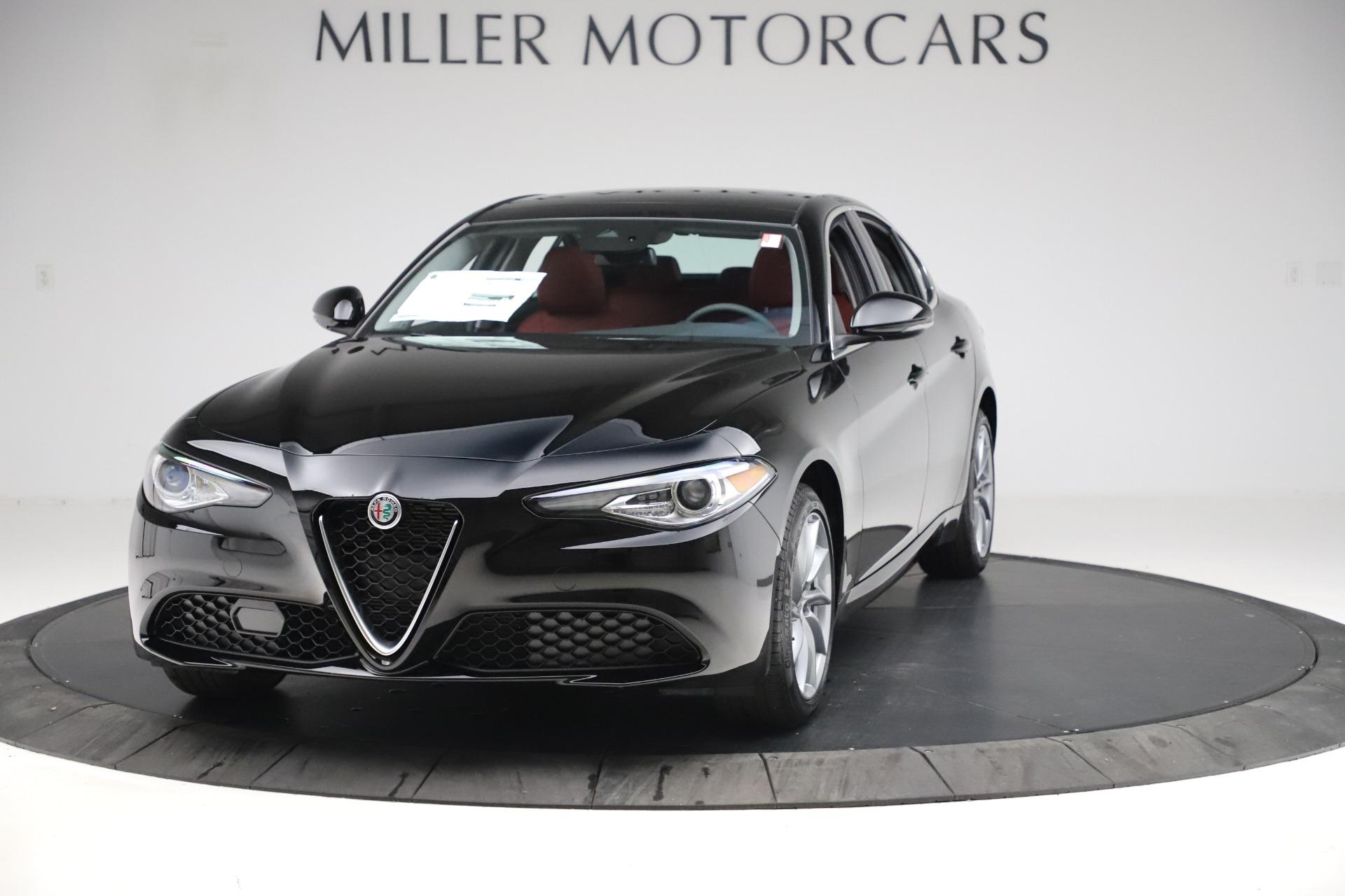 New 2020 Alfa Romeo Giulia Q4 for sale Sold at McLaren Greenwich in Greenwich CT 06830 1