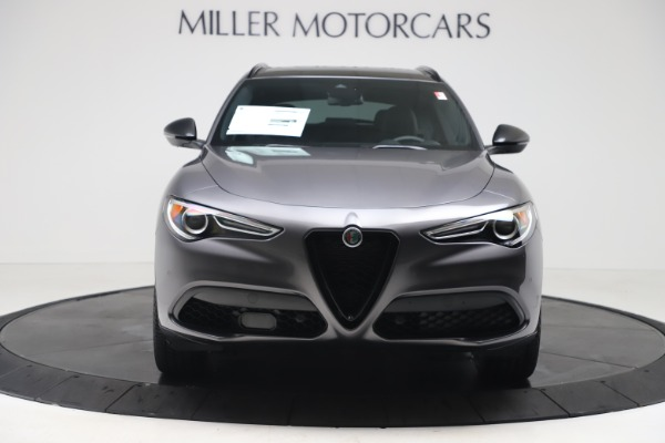 New 2020 Alfa Romeo Stelvio Ti Sport Q4 for sale $54,390 at McLaren Greenwich in Greenwich CT 06830 2