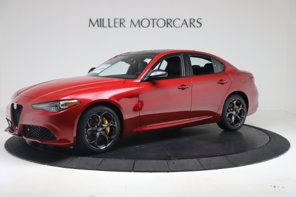 New 2020 Alfa Romeo Giulia Ti Sport Q4 for sale $56,690 at McLaren Greenwich in Greenwich CT 06830 2
