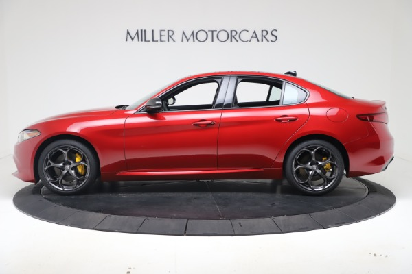 New 2020 Alfa Romeo Giulia Ti Sport Q4 for sale $56,690 at McLaren Greenwich in Greenwich CT 06830 3