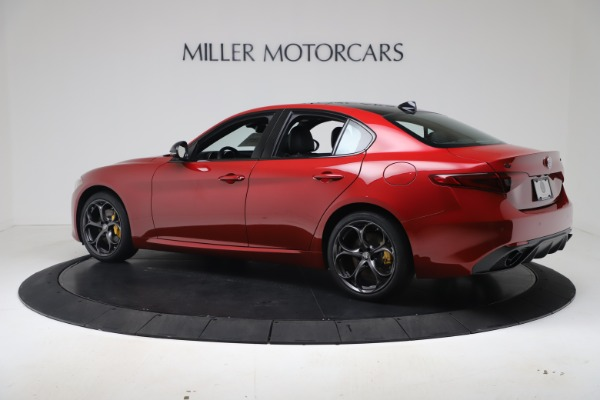 New 2020 Alfa Romeo Giulia Ti Sport Q4 for sale $56,690 at McLaren Greenwich in Greenwich CT 06830 4