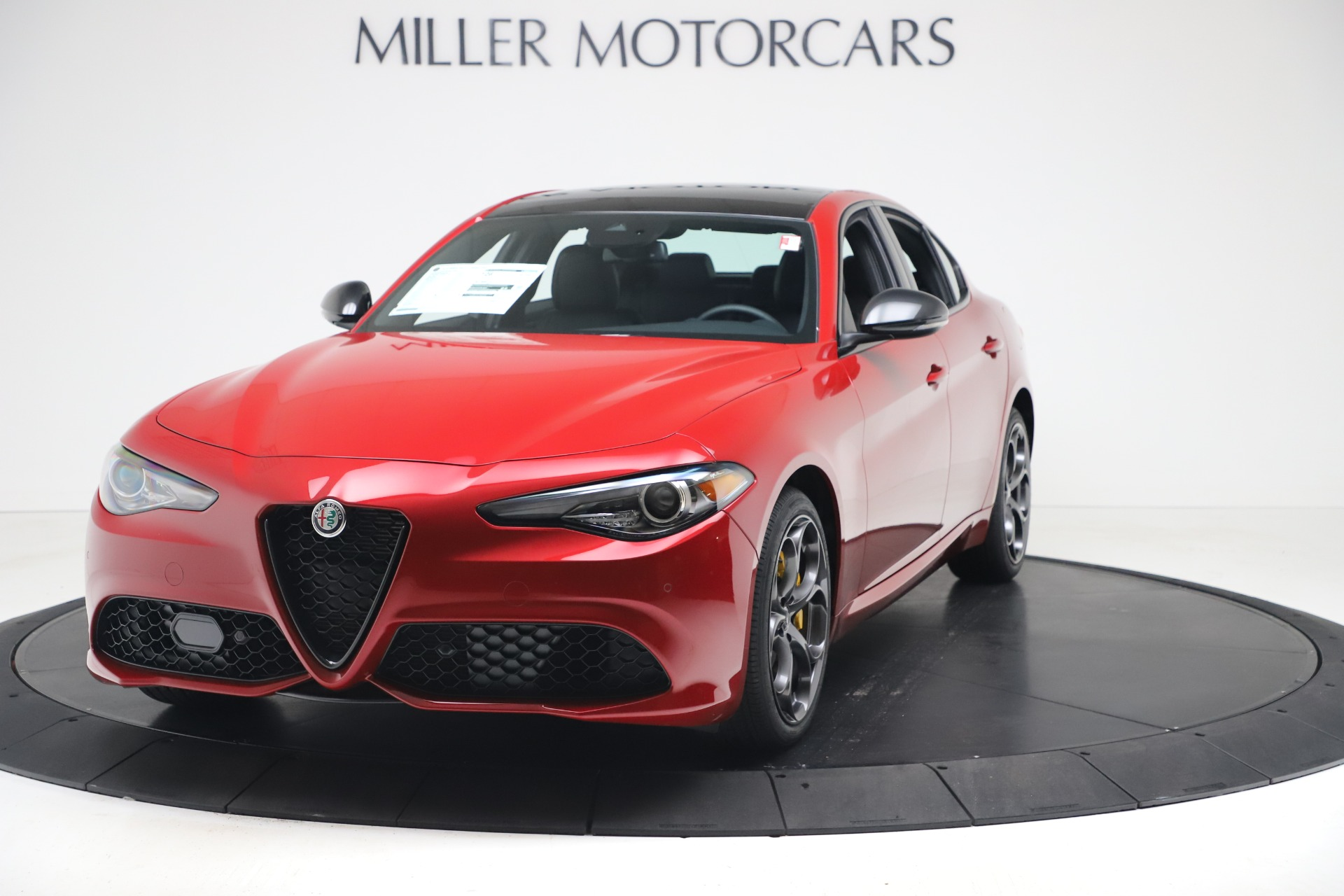 New 2020 Alfa Romeo Giulia Ti Sport Q4 for sale $56,690 at McLaren Greenwich in Greenwich CT 06830 1