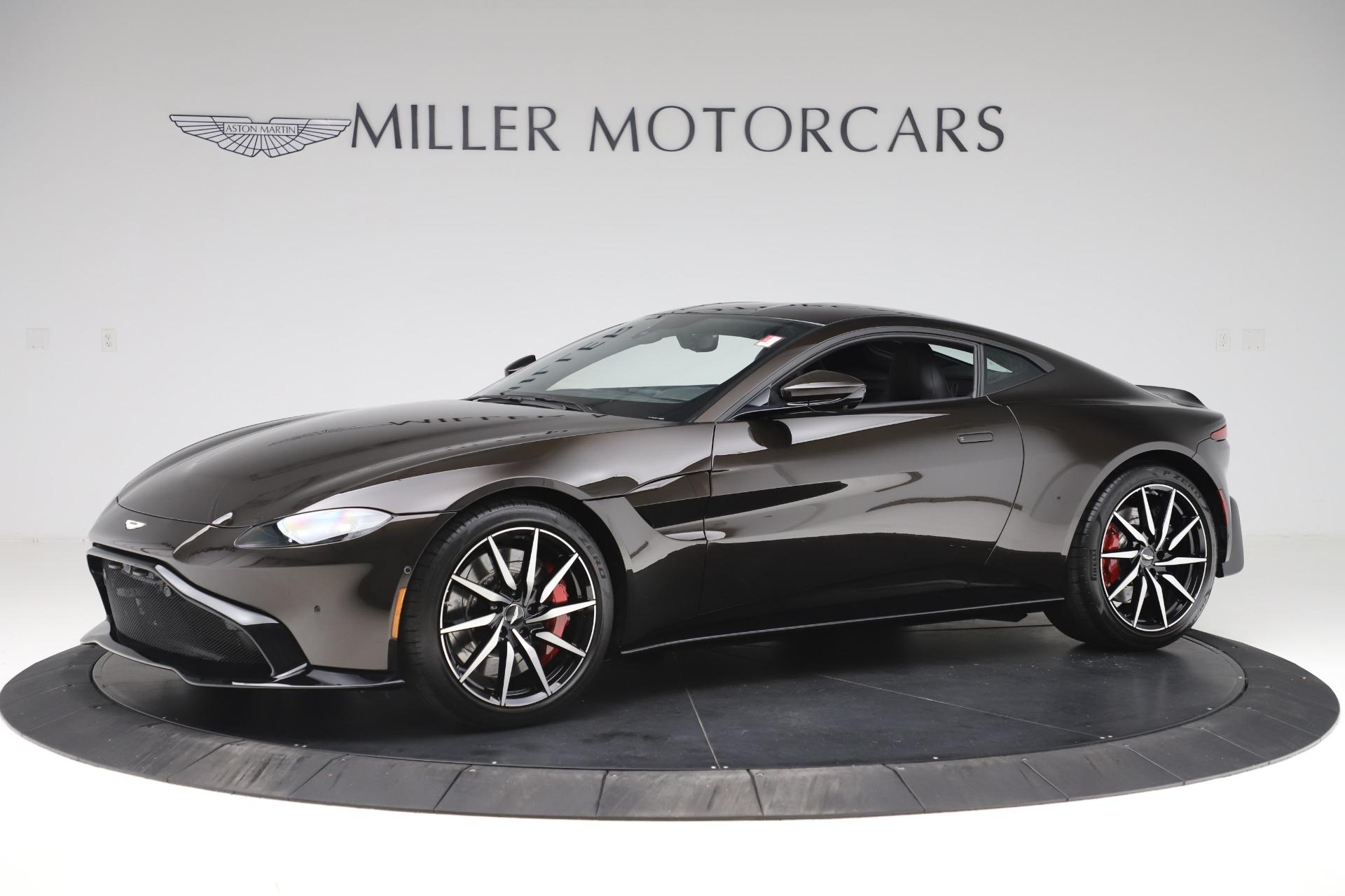 New 2020 Aston Martin Vantage for sale $184,787 at McLaren Greenwich in Greenwich CT 06830 1