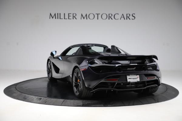 New 2020 McLaren 720S Spider Performance for sale $377,830 at McLaren Greenwich in Greenwich CT 06830 4
