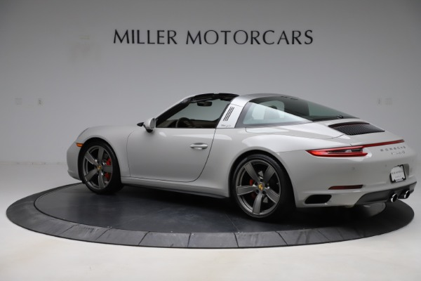 Used 2018 Porsche 911 Targa 4S for sale $134,900 at McLaren Greenwich in Greenwich CT 06830 4
