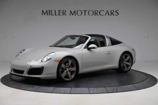 Used 2018 Porsche 911 Targa 4S for sale $134,900 at McLaren Greenwich in Greenwich CT 06830 1