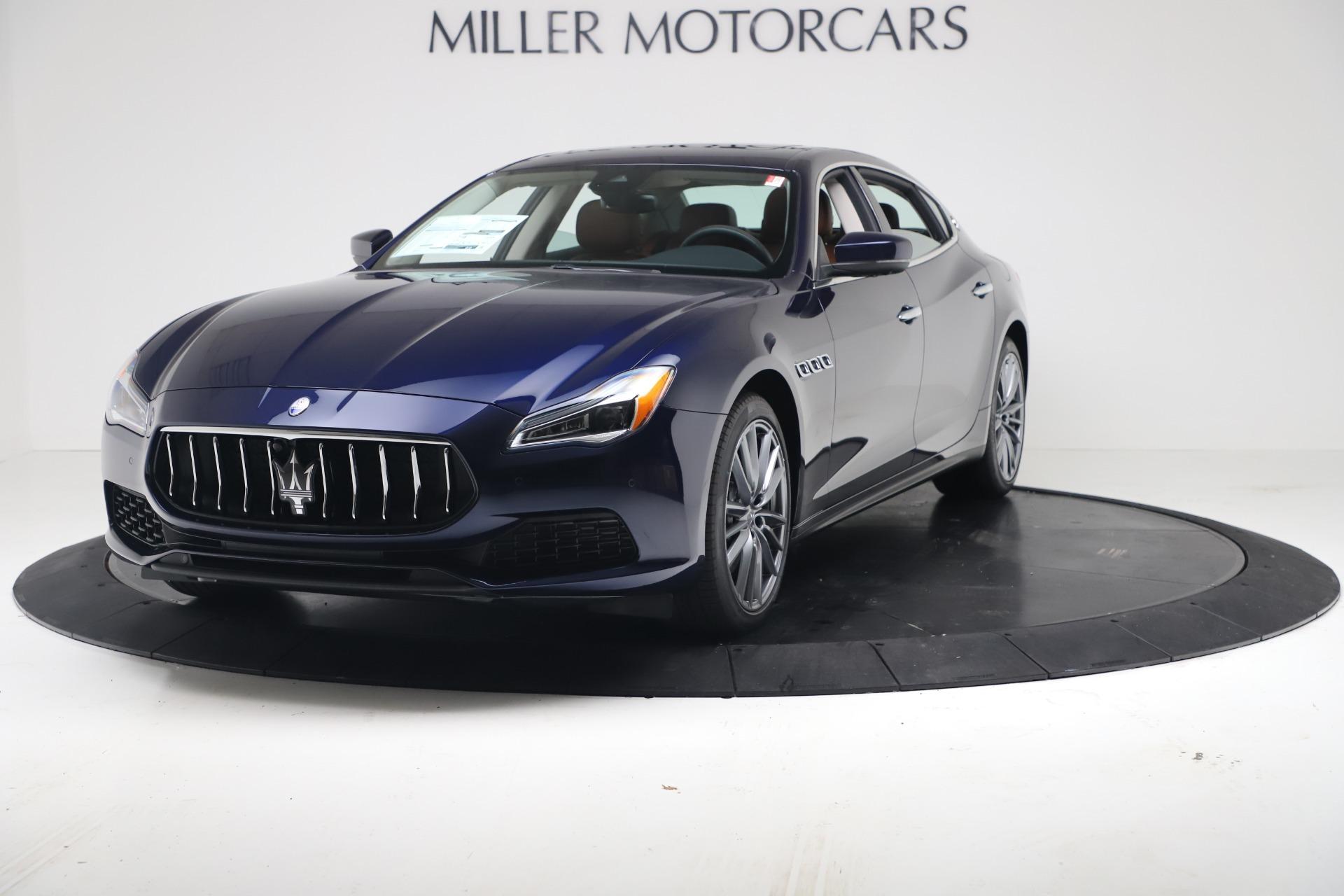 New 2020 Maserati Quattroporte S Q4 GranLusso for sale $122,185 at McLaren Greenwich in Greenwich CT 06830 1