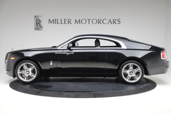 Used 2015 Rolls-Royce Wraith for sale Sold at McLaren Greenwich in Greenwich CT 06830 3