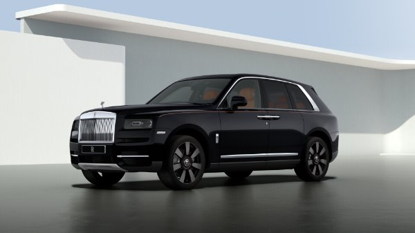 New 2020 Rolls-Royce Cullinan for sale $383,500 at McLaren Greenwich in Greenwich CT 06830 1