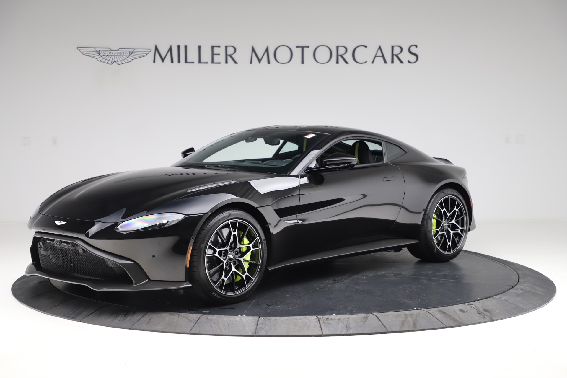 New 2020 Aston Martin Vantage AMR Coupe for sale $191,931 at McLaren Greenwich in Greenwich CT 06830 1
