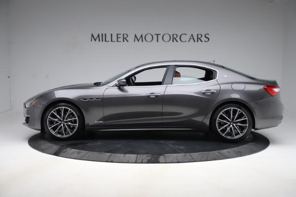New 2019 Maserati Ghibli S Q4 GranLusso for sale $98,095 at McLaren Greenwich in Greenwich CT 06830 3