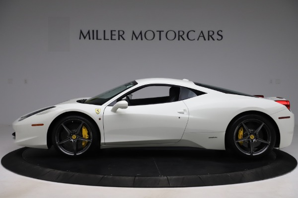 Used 2013 Ferrari 458 Italia for sale $186,900 at McLaren Greenwich in Greenwich CT 06830 3