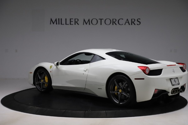 Used 2013 Ferrari 458 Italia for sale $186,900 at McLaren Greenwich in Greenwich CT 06830 4