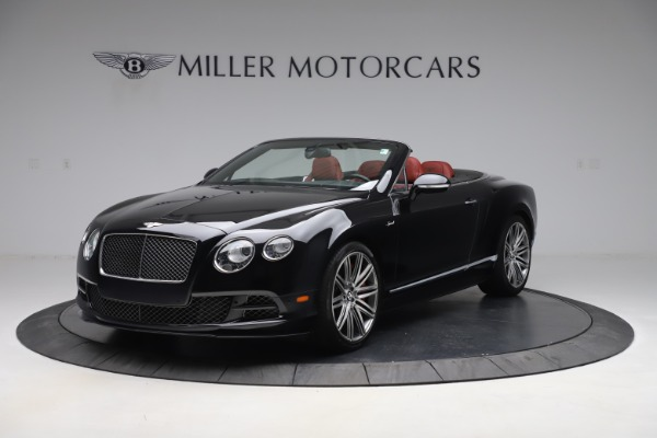 Used 2015 Bentley Continental GTC Speed for sale $138,900 at McLaren Greenwich in Greenwich CT 06830 2