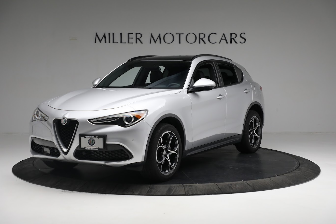 New 2019 Alfa Romeo Stelvio Ti Sport Q4 for sale Sold at McLaren Greenwich in Greenwich CT 06830 1