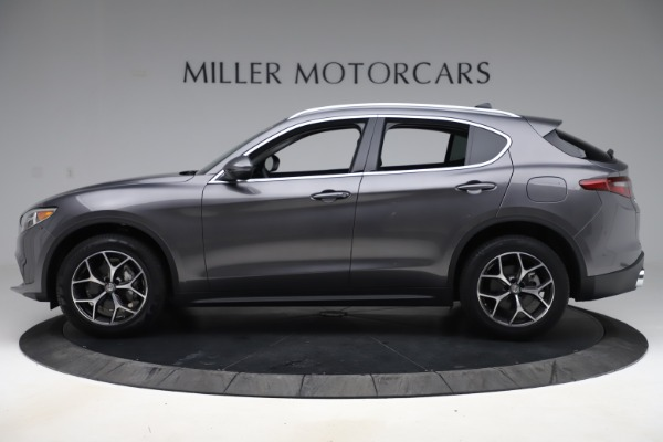 New 2019 Alfa Romeo Stelvio Ti Q4 for sale Sold at McLaren Greenwich in Greenwich CT 06830 3