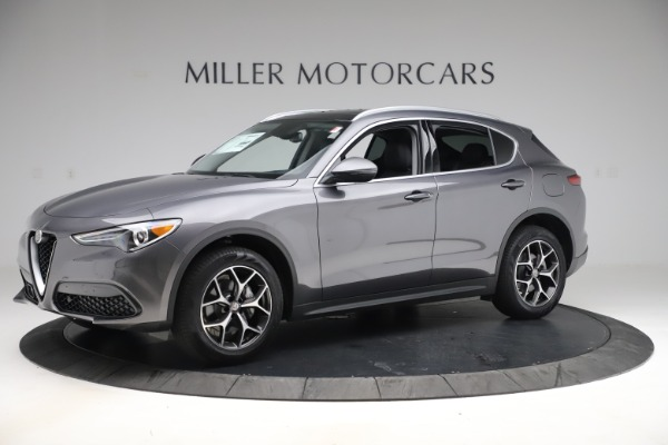 New 2019 Alfa Romeo Stelvio Ti Q4 for sale $51,090 at McLaren Greenwich in Greenwich CT 06830 2