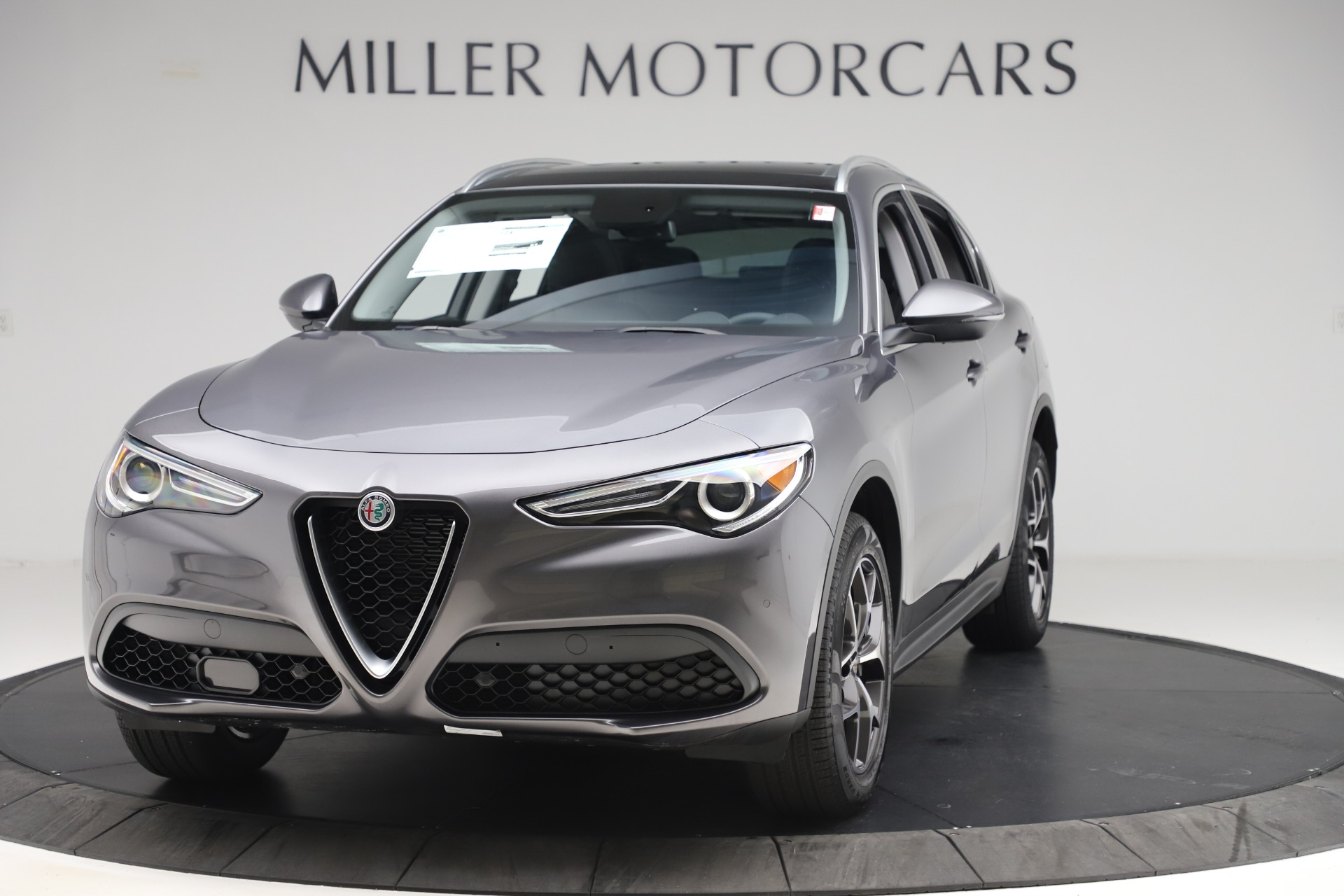 New 2019 Alfa Romeo Stelvio Ti Q4 for sale $51,090 at McLaren Greenwich in Greenwich CT 06830 1