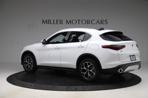 New 2019 Alfa Romeo Stelvio Ti Q4 for sale $51,490 at McLaren Greenwich in Greenwich CT 06830 4