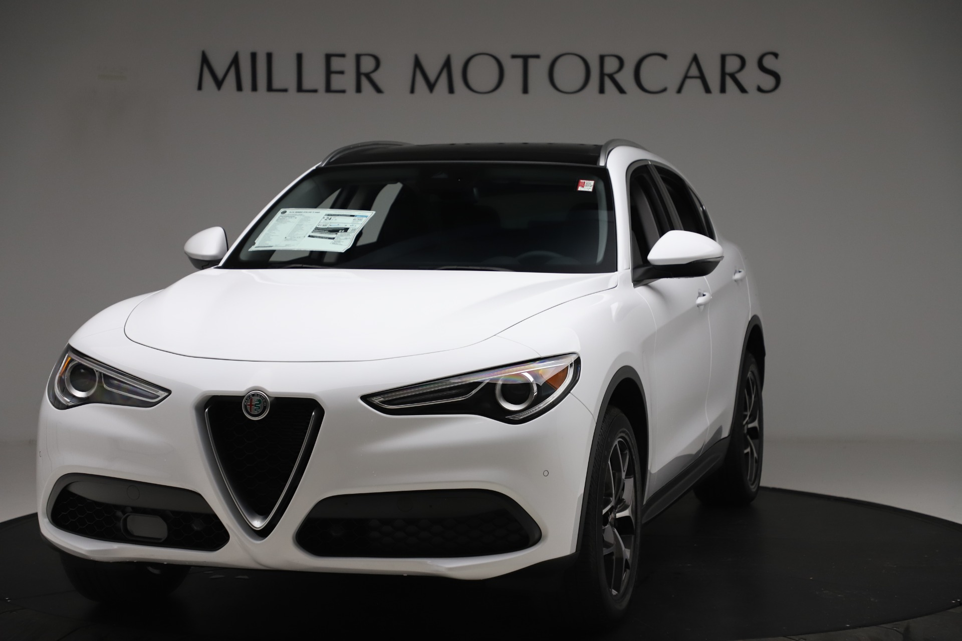 New 2019 Alfa Romeo Stelvio Ti Q4 for sale $51,490 at McLaren Greenwich in Greenwich CT 06830 1