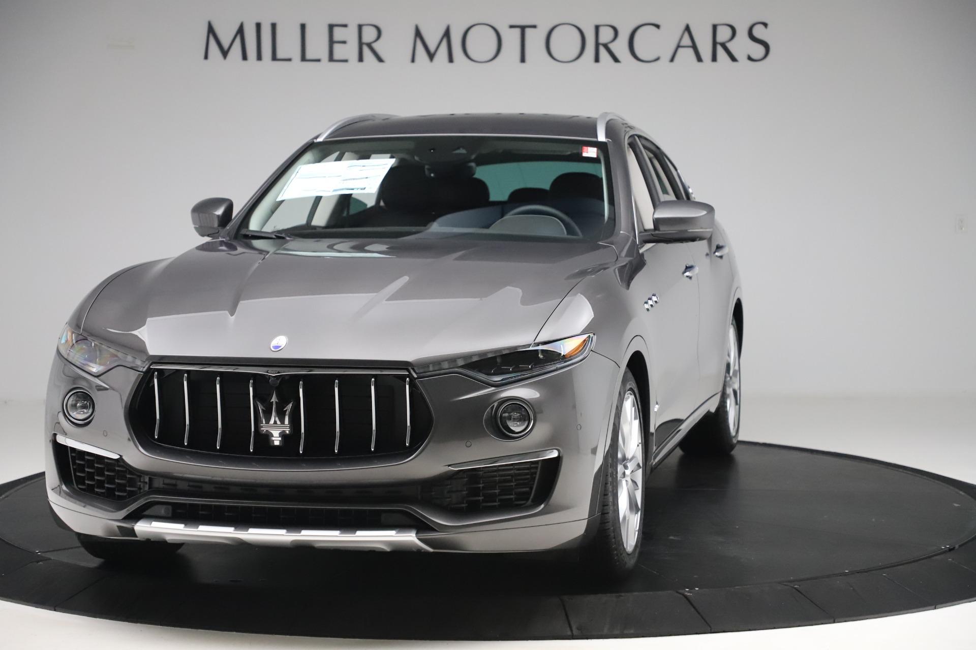 New 2020 Maserati Levante Q4 GranLusso for sale $87,885 at McLaren Greenwich in Greenwich CT 06830 1